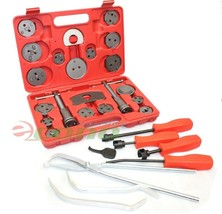 29PC Brake Shoe Pad Caliper Wind back Tool & Spring Installer Removal Ma... - $49.49