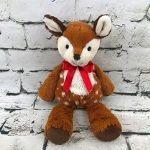 Mary Meyer Deer Fawn Plush Brown Spotted Floppy Stuffed Animal Soft Crib Toy - $19.79
