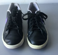 Nike Court Majestic Women's Black/White/Atomic Violet Sneakers Size 8 - $24.74