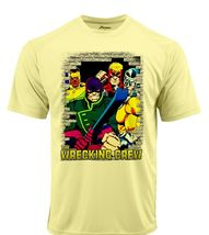 Wrecking crew dri fit graphic tshirt moisture wicking superhero comic spf tee 2 thumb200