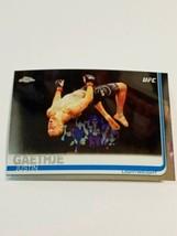 2019 Topps Chrome UFC #62 Justin Gaethje MMA  - $5.79