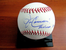 JOHN CANDELARIA NO HITTER 8-9-76 PITTS PIRATES SIGNED AUTO OML BASEBALL ... - $79.19