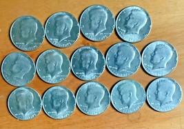 Set of 14 Kennedy Bicentennial  Half Dollars 50 Cent Pieces - $12.99