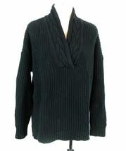 RALPH LAUREN Women's XL Chunky Shaker Knit Chunky Cotton Sweater - $11.59