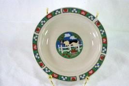 Gibson Barnyard Coupe Bread Plate - $4.15