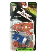 The FAST And THE FURIOUS 2003 PRESS PASS D3 Model Car ORANGE CRUSH NOS R... - $14.84