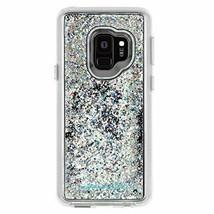 Case-Mate - Samsung Galaxy S9 case - WATERFALL - Cascading Liquid Glitter NEW