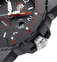 Luminox Men's Watch Navy SEAL Magnifying    Glass 3615    Black/Red    NEW image 2