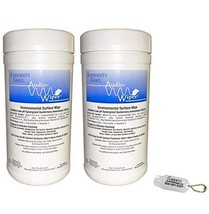 2 Pack Bonus Bundle! Audio-Wipes Hearing Aid Wipes - Large Canister 160 Wipes Pe