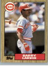 1987 Topps - Cincinnati Reds RC  #648  Barry Larkin - $0.98