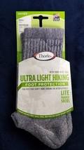 hiking socks ultralight Thor Wick cool lite padded Gray small - $10.89