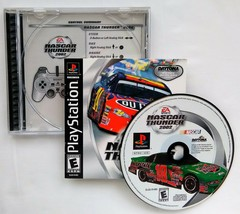 NASCAR Thunder 2002 (Sony PlayStation 1, 2001) PS1 CIB Black Label - $7.37