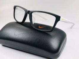 New NIKE 7919AF 003 Matte Black Eyeglasses 54mm with NIKE Case - $69.25