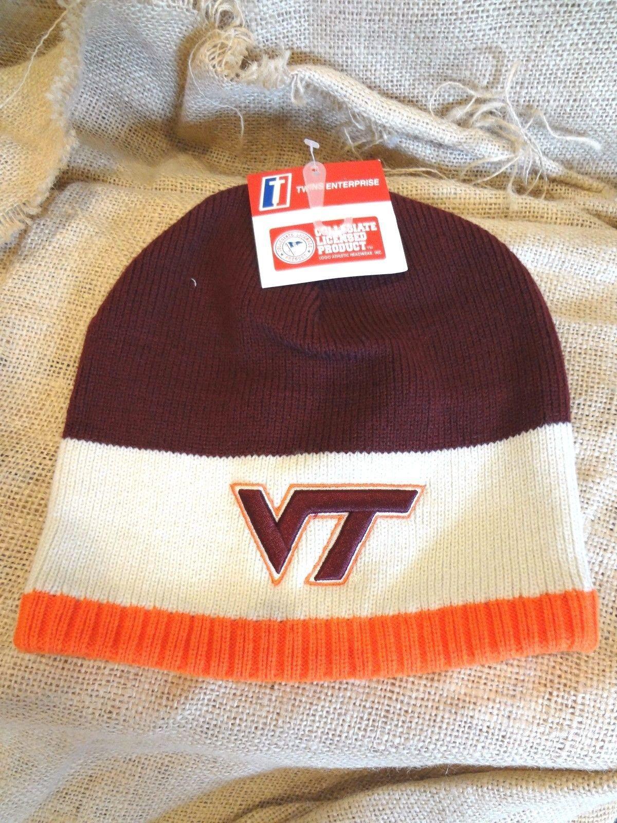 db616b4bc Virginia Tech Hokies ~ Orange Beige Maroon and 50 similar items