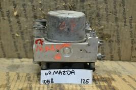 2006-2008 Mazda 6 ABS Pump Control OEM GR6A437A0 Module 125-10E8 - $23.01