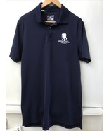 UNDER ARMOUR Wounded Warrior Project Polo Shirt Navy Blue Small S - $18.95