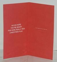 Hallmark XMH 5959 Santa Presents Snow Pile Christmas Gift Card Holder Package 3 image 2