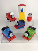 Mattel Thomas the Train CHUNKY LOT Toddler Trains Water Tower w/ Tug Boa... - $24.70