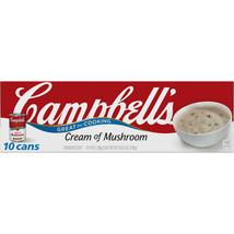 Campbell's Condensed Cream of Mushroom Soup (10.5 oz., 10 pk.) - $11.09