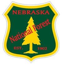 Nebraska National Forest Sticker R3279 You Choose Size - $1.45+