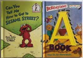 Can You Tell Me How to get to Sesame Street? with Elmo & The A Book by D... - $5.99