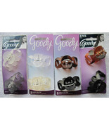 2 Goody Medium Matte Frosted Spider Octopus Plastic Jaw Claw Clips 2 1/4... - $10.00