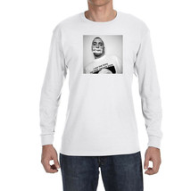 Eminem The Pope Smokes Dope Long Sleeve Shirt Hip Hop Tee Slim Shady Revival New - $22.49