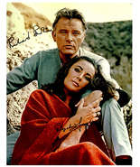 ELIZABETH TAYLOR & RICHARD BURTON Signed Autographed Cast Photo w/COA 32011 - $450.00