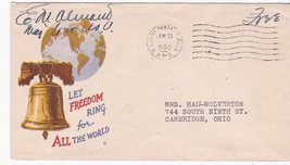 FREE MAIL US ARMY POSTAL SERVICE ON PATRIOTIC COVER JANUARY23 UNKNOWN YEAR - $3.54