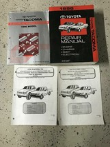 1996 Toyota TACOMA TRUCK Service Repair Shop Manual Set W EWD + OEM - $197.95