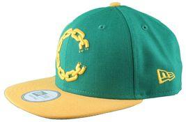 Crooks & Castles New Era Purple/Yellow or Khaki Chain C Snapback Hat image 3