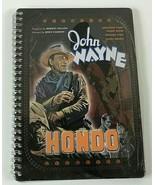 John Wayne Hondo Tin Metal Notebook Journal Vandor 2003 NEW NOS Free Shi... - $12.12