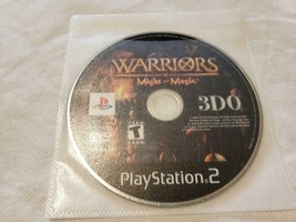 Warriors of Might and Magic Video Game PS2 Playstation 2 - GAME DISC ONLY - $9.80