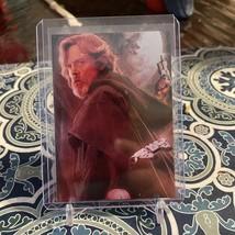 1993 Topps Star Wars Galaxy Luke Skywalker Etched Foil Card #2 - $22.28