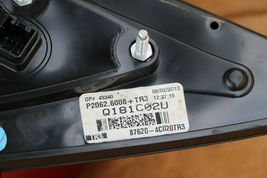 11-13 Kia Optima Side View Door Mirror Power Folding Passenger Right RH (8Wire) image 8