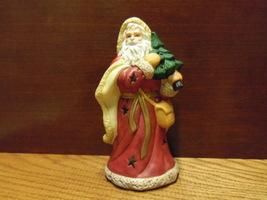 Kurt Adler Santa With A Tree Tealight Candle Holder - $9.99