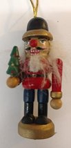 Nutcracker Wooden Ornament (E) - $7.50