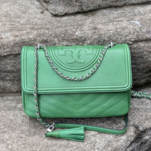 New Tory Burch Fleming Distressed Convertible Shoulder Bag - $420.00