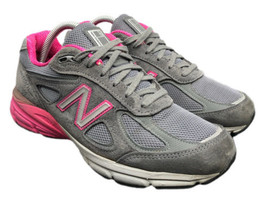 New Balance 990v4 Gray Pink Made In USA W990GP4 Womens Size 8.5 Fast Shipping  - $122.50