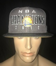 Adidas NBA Golden State Warrior's 2015 Champions Limited Edition Hat Loc... - $63.76