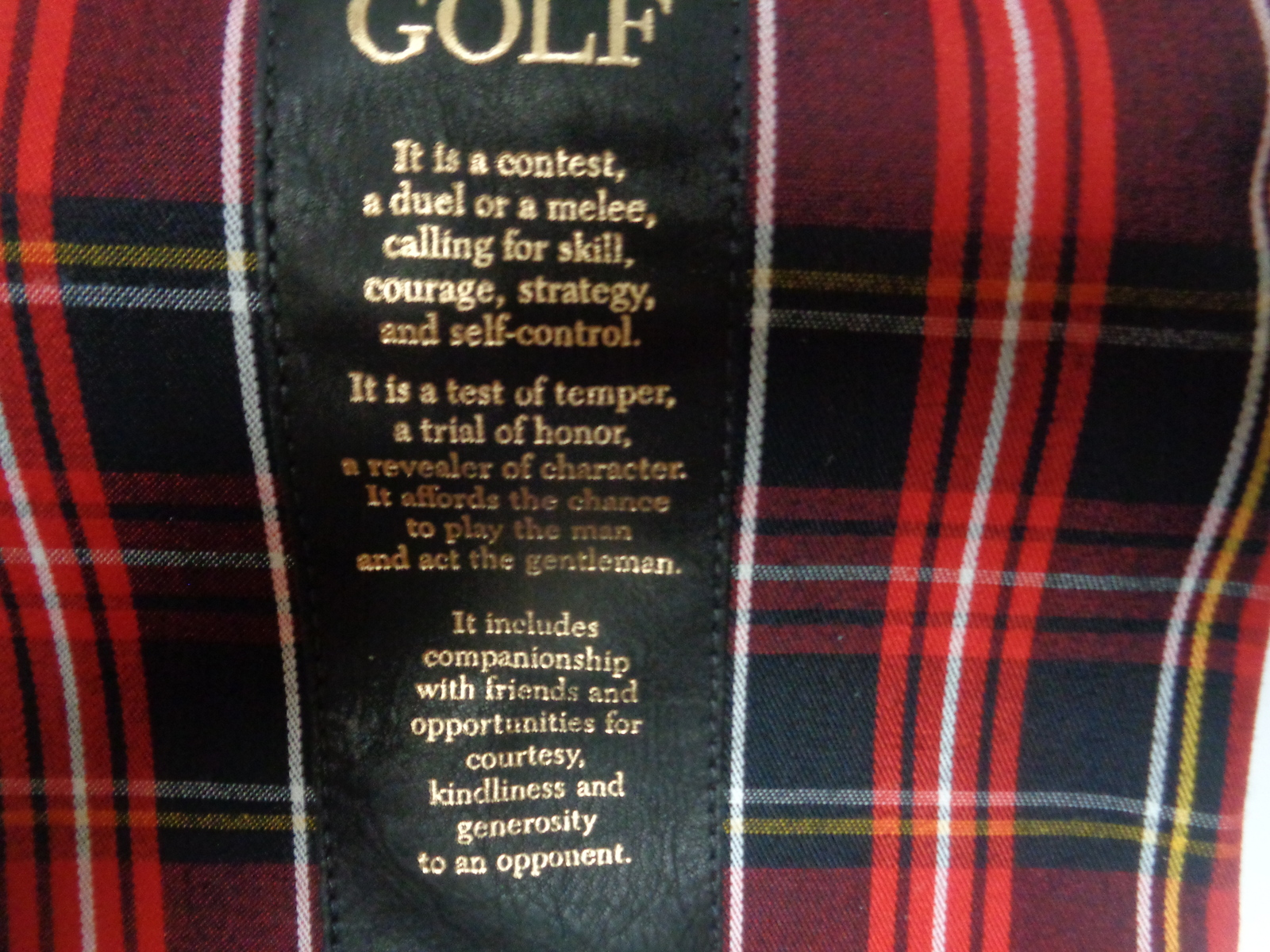 """Golf Accessories Spindletop Draw String Bags Set of Two 15"""" x 7"""" Tournament Gift"""