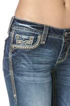 Rock Revival Women's Premium Skinny Light Denim Jeans Woven Pants Kida S image 4