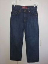 LEVI'S 550 RELAXED FIT BOYS JEANS-16(28X28)-100% COTTON-WORN COUPLE TIME... - $14.99