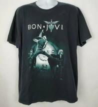 Bon Jovi Soldier Field 2010 Concert T Shirt Sz XL Rock 7/30/10 Circle To... - $37.61