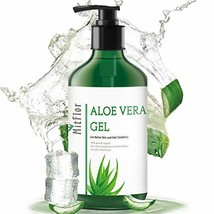 MitFlor Organic Aloe Vera Gel, 100% Pure Aloe Vera Juice from Natural Aloe Plant