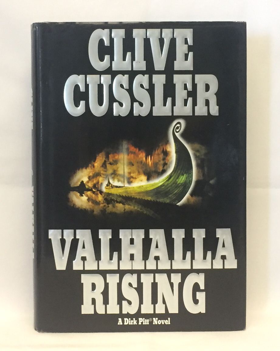 Primary image for HC book Valhalla Rising by Clive Cussler a Dirk Pitt novel 2001 1st Edition