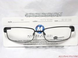 Modern Optical Bo Men's Prescription Eyeglasses Metal Frame Matte Black ... - $34.60