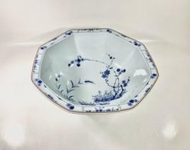 Haviland Limoges Jardin Bleu Salad Bowl France - $83.22