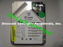 "SSD Seagate ST51080A 3.5"" IDE Drive Replace with this SSD 2GB 40 PIN IDE Card"
