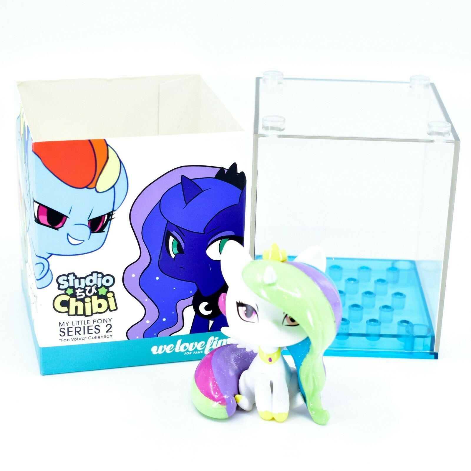 Studio Chibi My Little Pony Series 2 Princess Celestia Action Figure Statue